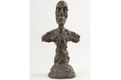 "Alberto Giacometti, ""Buste d'homme [New York II]"", 1965"