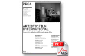 Artists' Film International. Inauguración: sábado 2 de febrero, 18 hs.