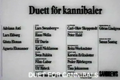 Cine Susan Sontag: Duet for Cannibals