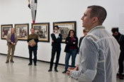 Artists + Critics. Guided tours by specialists and creators. Saturdays 5PM.